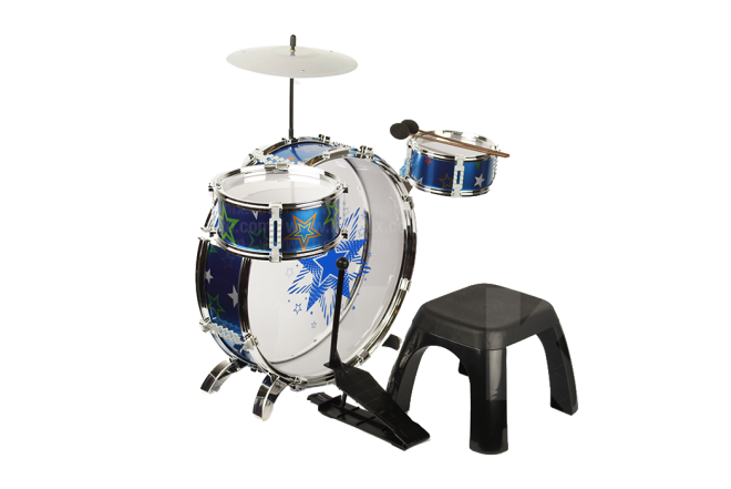 Juguete Batería Musical My First Drum Set