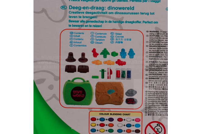 Juguete Set Plastilina Dinosaurios Dough & Carry