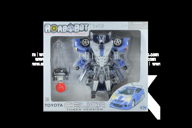 Robot Transformer Toyota Celica 1:18