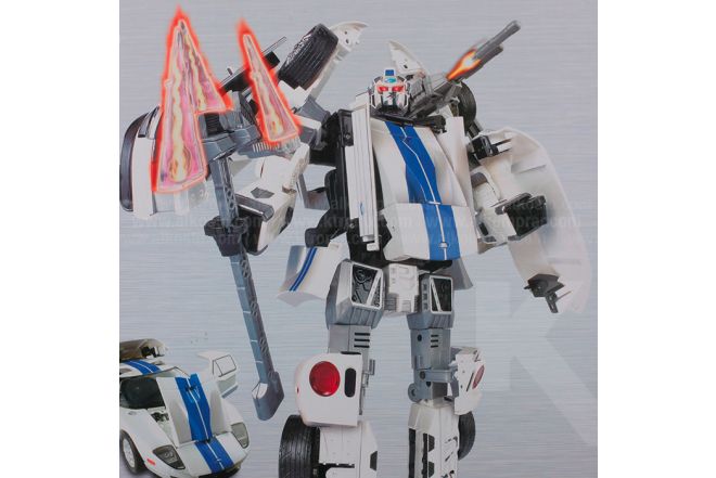 Robot Transformer Ford GT 1:12