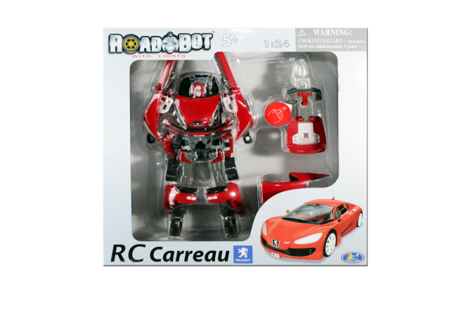 Robot Transformador Rc Carreau (Juguetes)