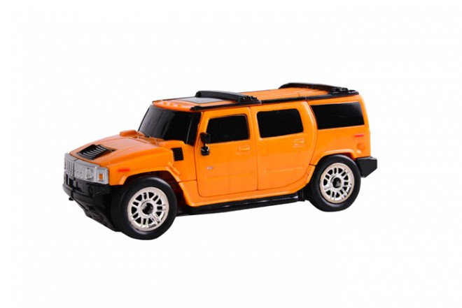 Robot transformer Hummer 3 en 1 Happy well Amarillo