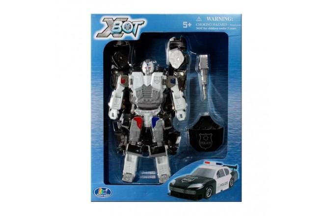 XBOT Robot Transformador Patrulla
