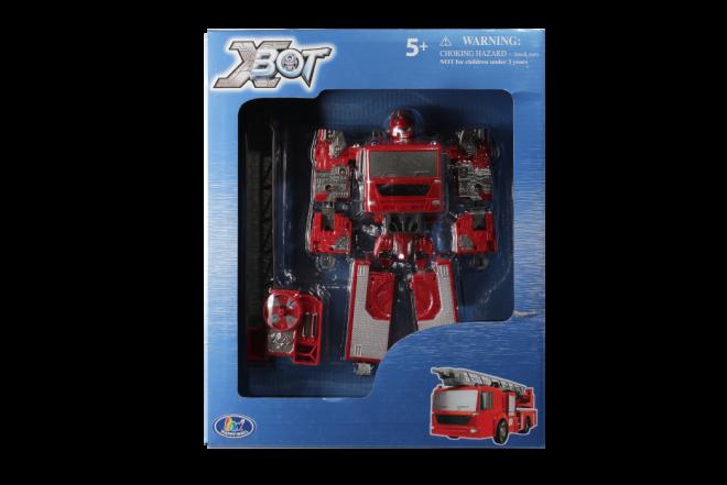 Robot Transformer Carro de Bomberos Xbot