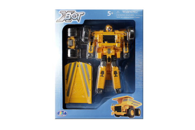 XBOT Robot Transformer Camión Carga