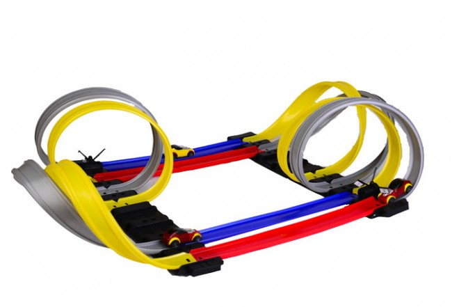 Pista racer loop Flash Speed colores