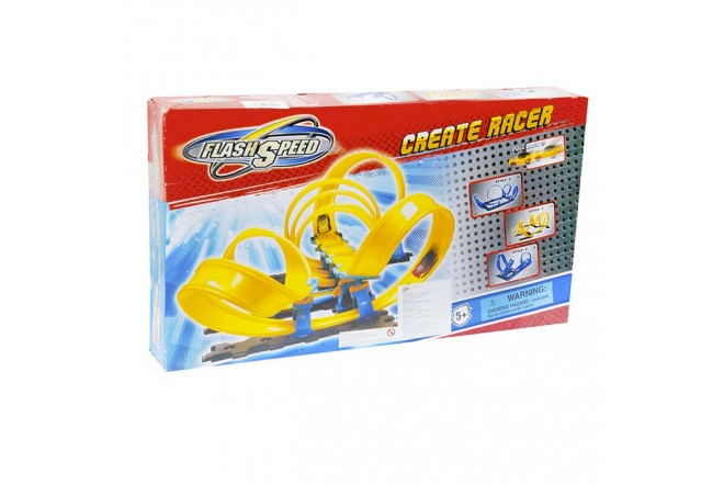 Pista de Carros Create Racer Flash Speed 4mts