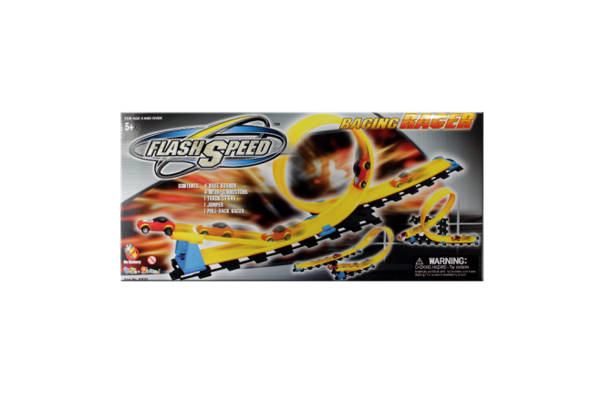 Pista De Carros Flash Speed Racing Racer (Juguetes)