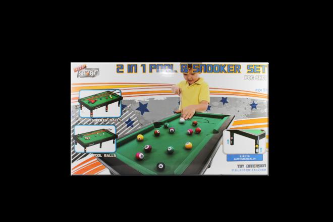 Mesa De Pool Infantil Let's Sport (Juguetes)
