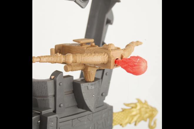 Figura Legend Of Dragon Doom Castle Atack Playset