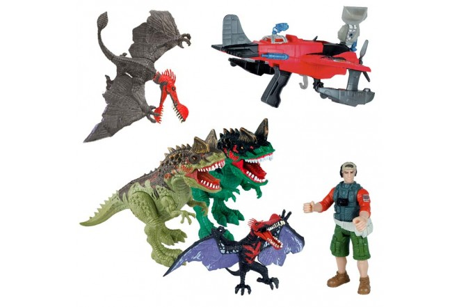 DINO VALLEY Playset Dinostrike