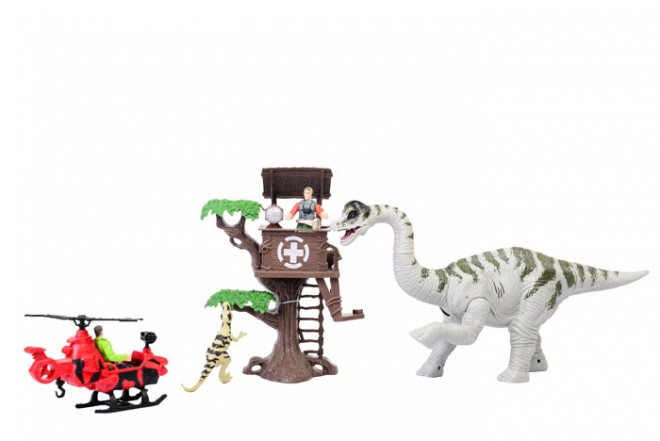DINO VALLEY Playset Brachiosaurus tower