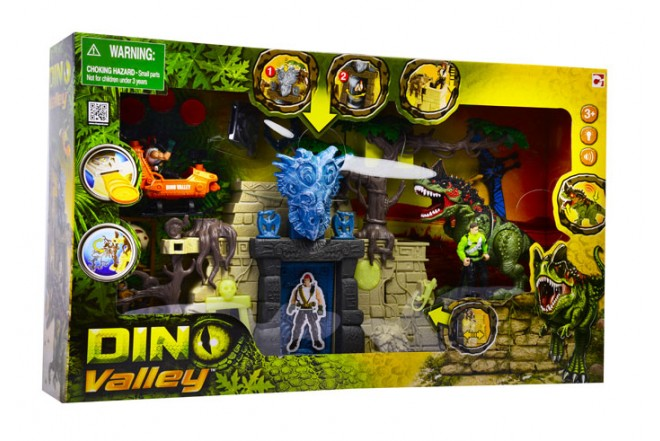 Playset dino valley Dino Tomb Chap Mei