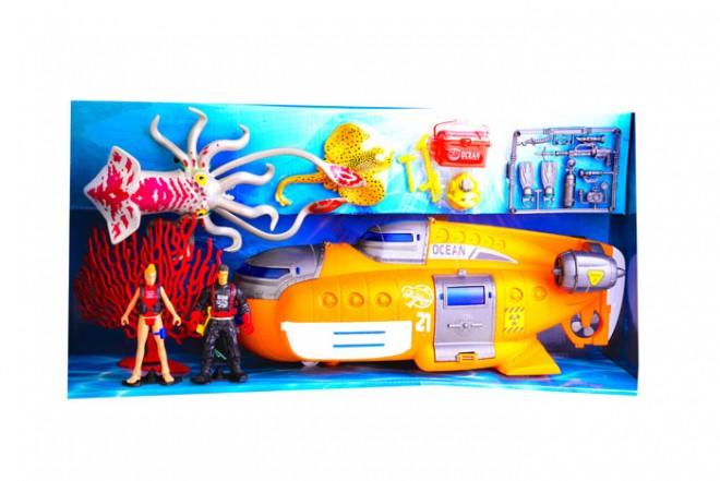 OCEAN QUEST Playset Exploración submarina