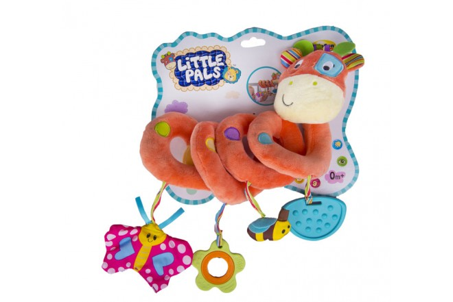 Jirafa para cuna Win fun little pals naranja