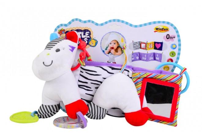 LITTLE PALS Zebra para cuna