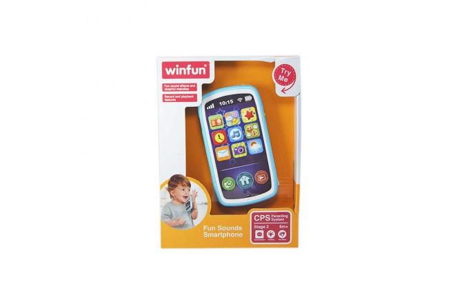 WINFUN Juguete Smartphone Sonidos Divertidos