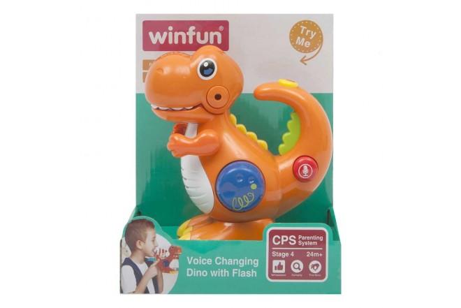 Dinosaurio de Juguete con Luz y Sonido