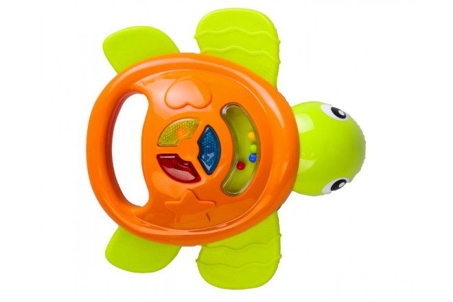 Tortuga sonajero Win Fun Verde