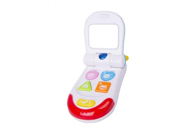 Teléfono bebé Win Fun Blanco