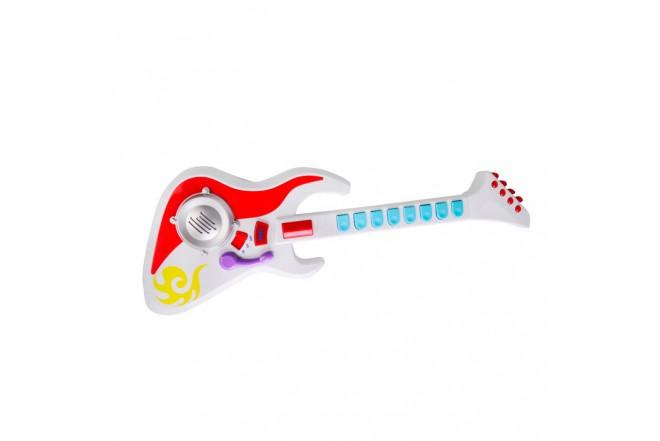 WINFUN Guitarra eléctrica con sonidos y luces