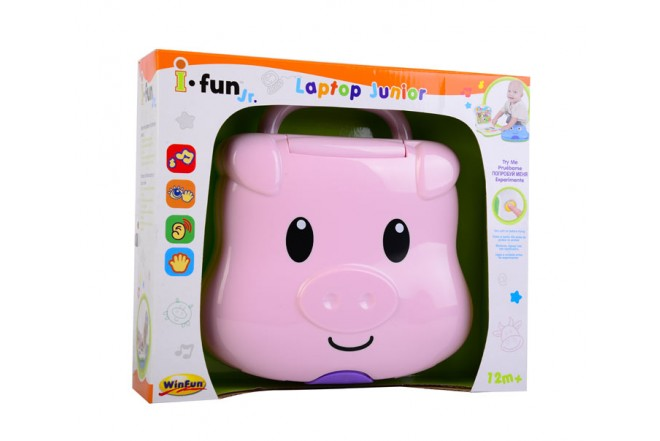 Laptop Junior Win fun Rosado