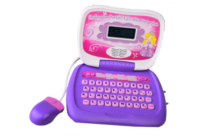 Tutor Laptop para señoritas Win Fun ifun rosado