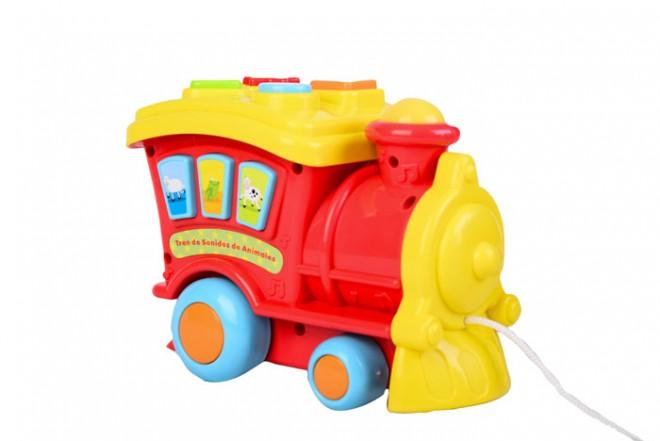 Tren con sonidos Win fun Rojo