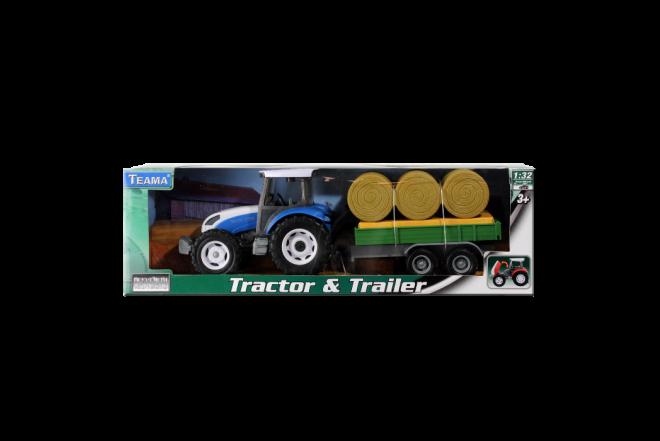 Tractor Con Trailer (Juguetes)