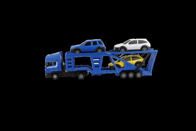 Camión Porta Vehículos x 3 Car Transporter (Juguetes)