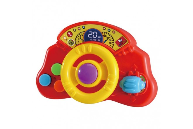 INFUNBEBE Volante para niño con luces y sonido