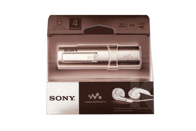MP3 SONY NWZ-B183F/Black 4GB