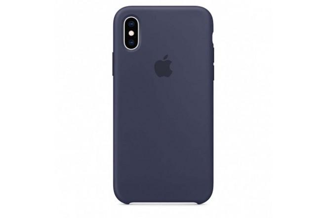 Protector de Silicona IPHONE XS Max Azul