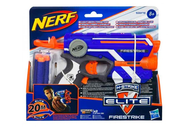 Lanzador NERF Elite FIRESTRIKE