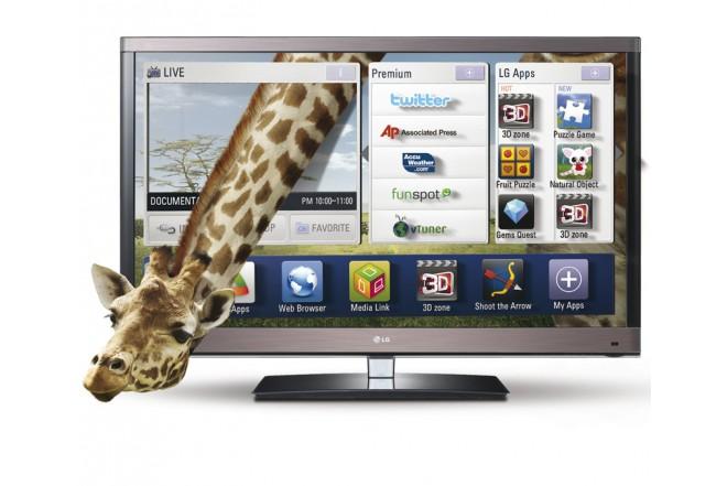 """TV 55"""" LED LG 55LW5700 FHD 3D"""
