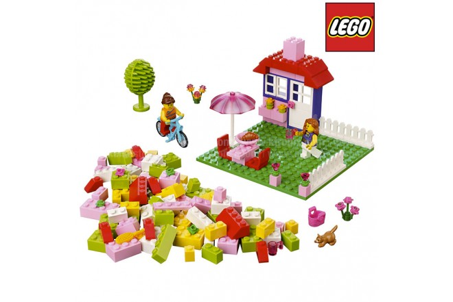 Maletín Rosado Día de Verano LEGO Bricks and More