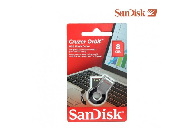 Memoria USB SANDISK 8GB Orbit