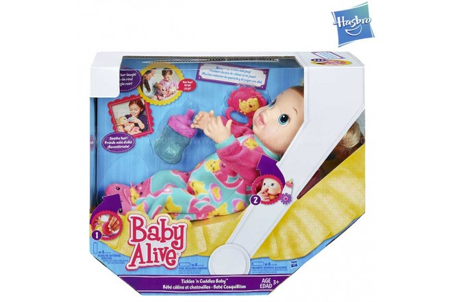 BABY ALIVE Tickle Toes Baby