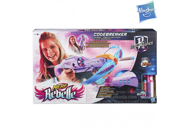 NERF REBELLE Secrets & Spies Ballesta Codebreaker