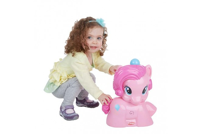 MY LITTLE PONY Pinkie Pie Lanza bolitas