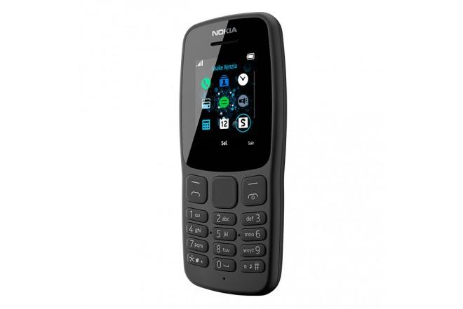 Celular NOKIA 106 - 4MB Gris3