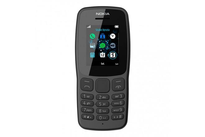 Celular NOKIA 106 - 4MB Gris1