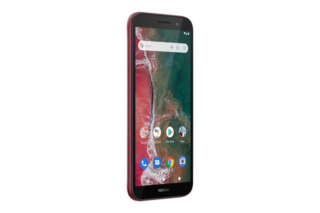 Celular NOKIA C1 Plus 32GB Rojo-3