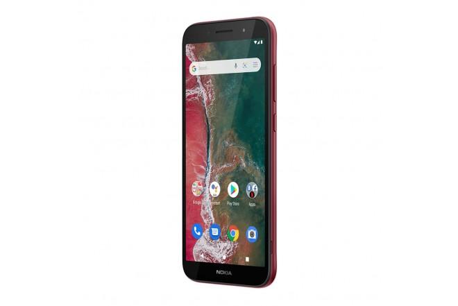 Celular NOKIA C1 Plus 32GB Rojo-4