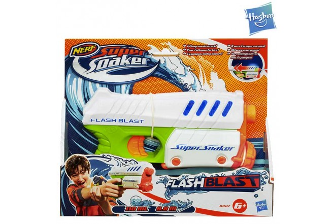 New SUPERSOAKER Flash Blast