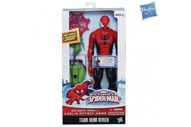 Titán Hero Series SPIDER-MAN con accesorios