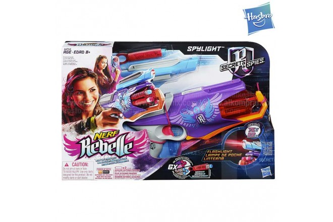 NERF N-rebelle Secret Agent Starlight