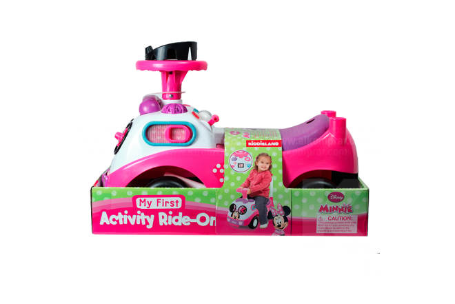 Montable Minnie Disney My First Activity Ride-On