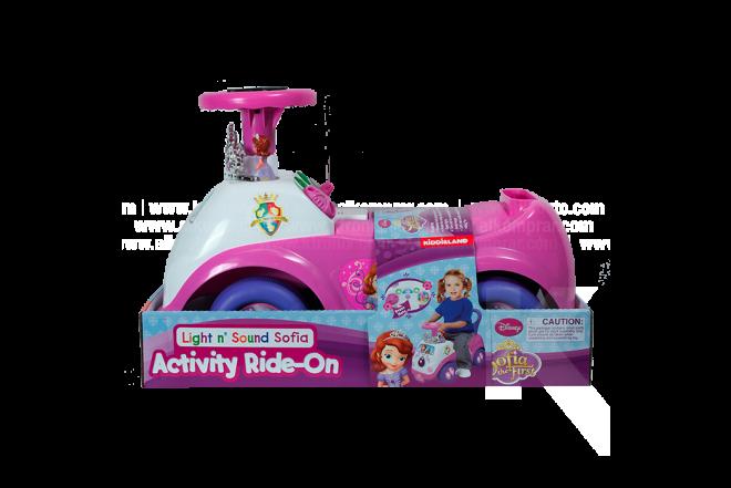 Montable Sofia Disney Activity Ride-On