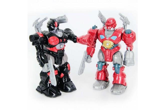 M.A.R.S. Set De 3 Figuras Motorized Attack Robo Squad